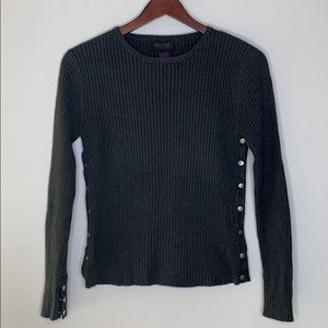 Ralph Lauren sweater with buttons